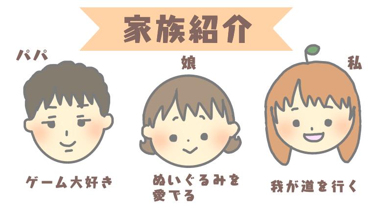 ともみかん家族紹介